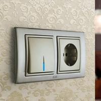 Установка выключателей в Смоленске. Монтаж, ремонт, замена выключателей, розеток Смоленск.