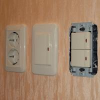 Монтаж, ремонт, замена выключателей Смоленск